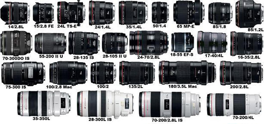 Các loại lens máy ảnh