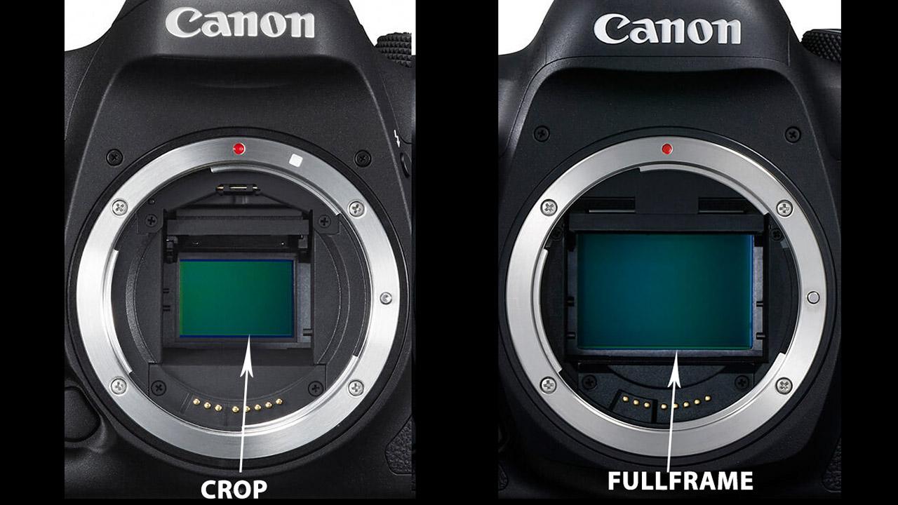 Cảm biến máy ảnh Crop và Fullframe