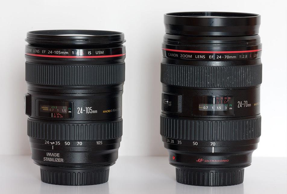 Lens 24-70 và 24-105