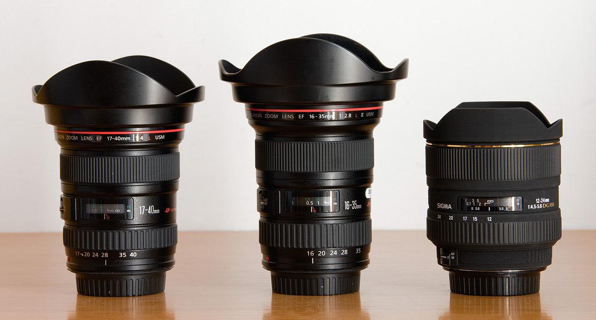 Lens chụp ảnh phong cảnh