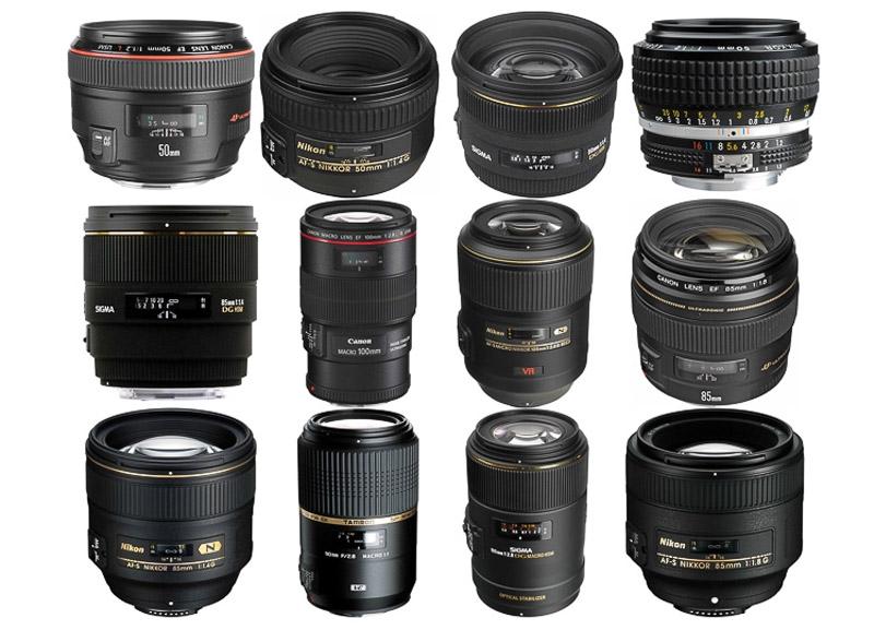 Lens Prime tiêu cự cố định