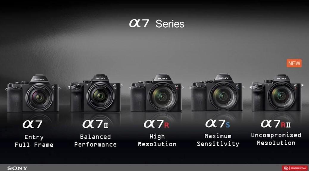 Sony a7 Series ra đời, dòng máy ảnh Mirrorless FullFrame của Sony
