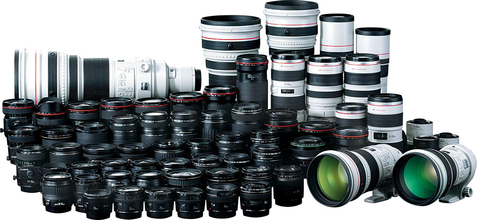 Lens cũ Canon