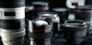 Lens máy ảnh cũ