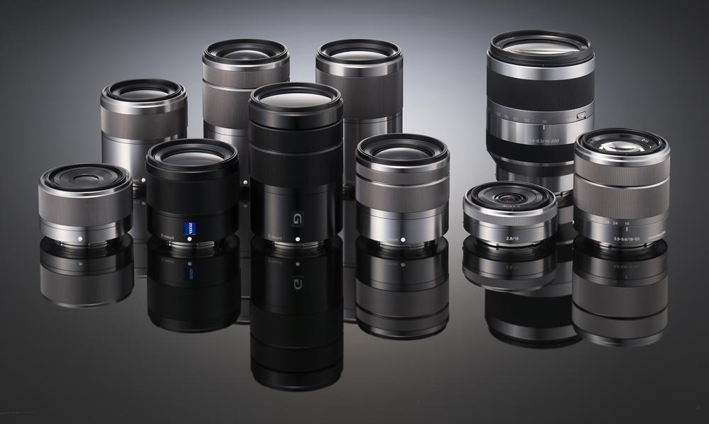 Lens cũ Sony