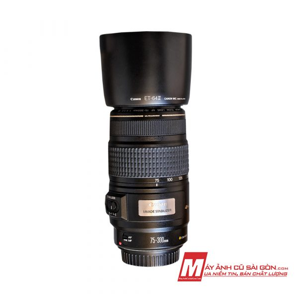 Lens Canon 75-300 IS USM