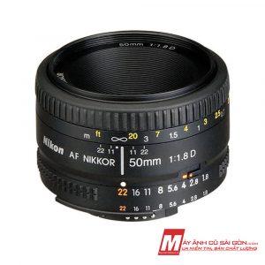 Lens chân dung Nikon 50F1.8D