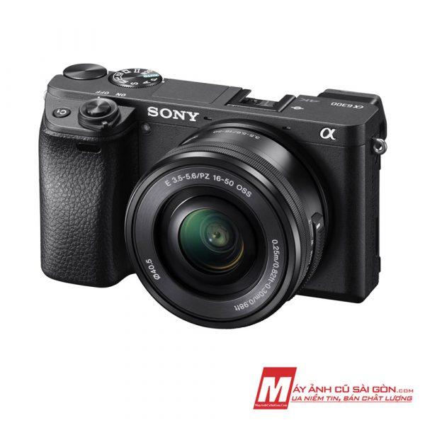 Máy ảnh Sony A6300 đen đẹp