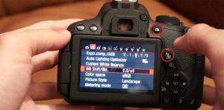 Sử dụng máy ảnh Canon DSLR cơ bản